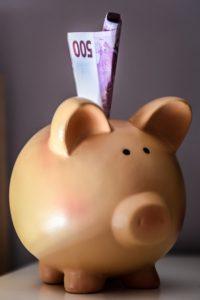 Pokladnička na peniaze
